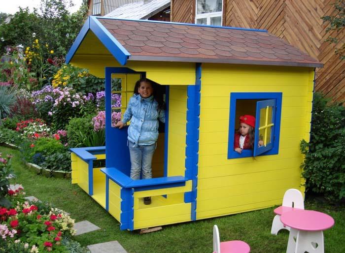 детский дом своими руками для дачи